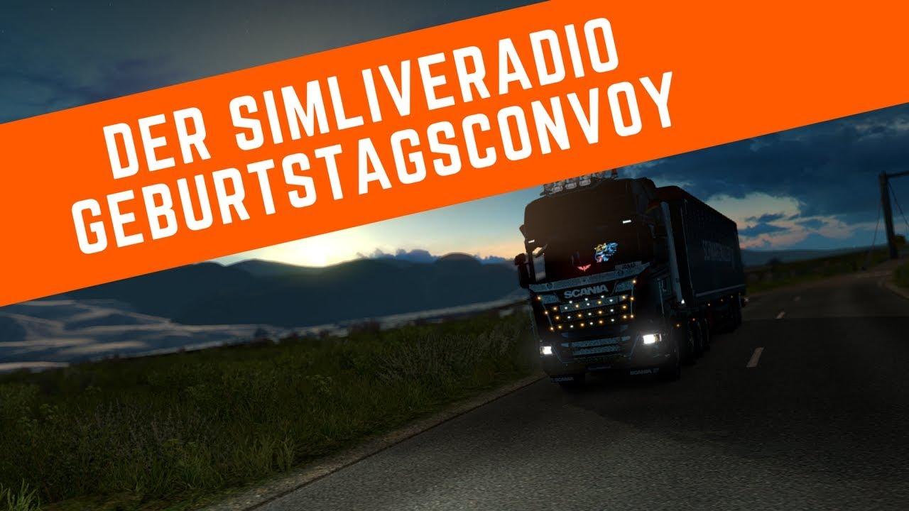 Der Aftermovie des SimLiveRadio Geburtstagsconvoy vom 30. September