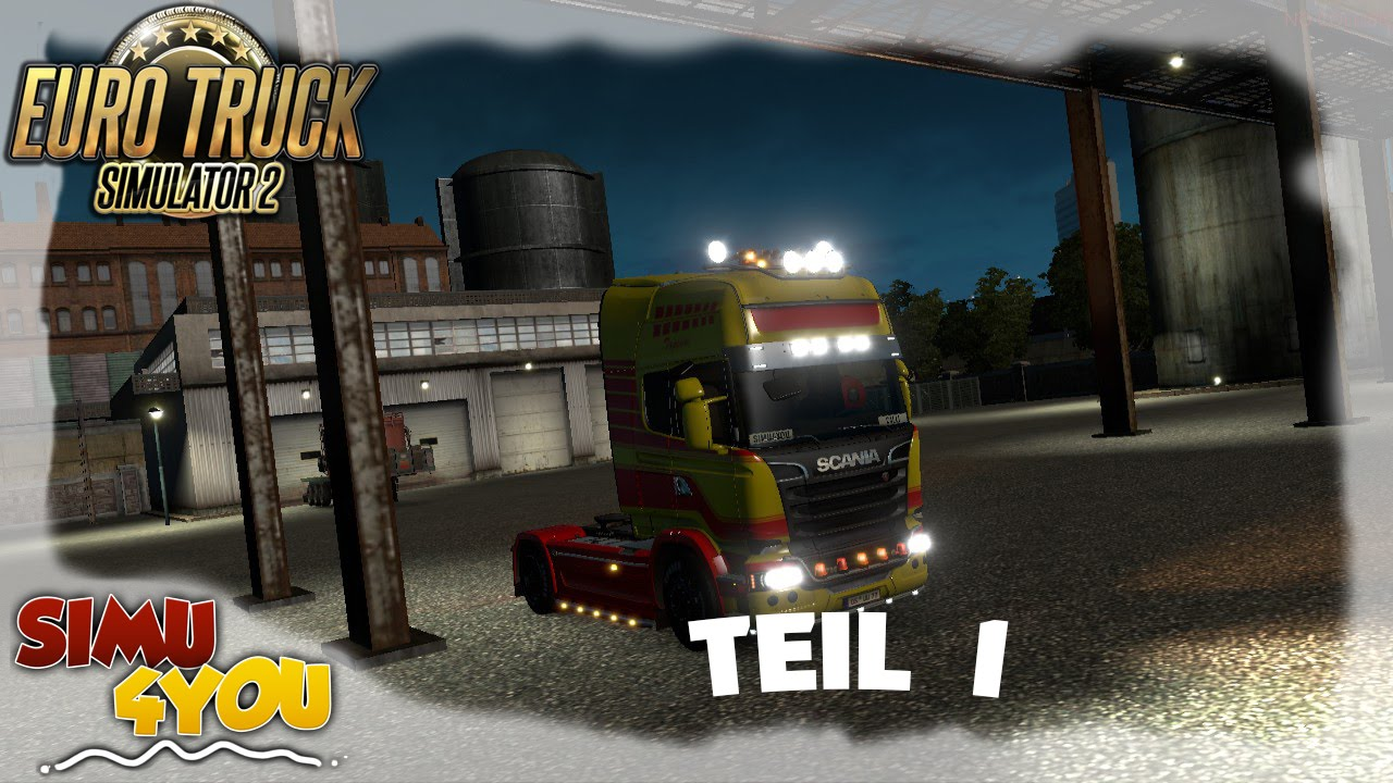 Euro Truck Simulator 2 Multiplayer | Simu4you Convoy Teil 1| ConSec - Convoy Security