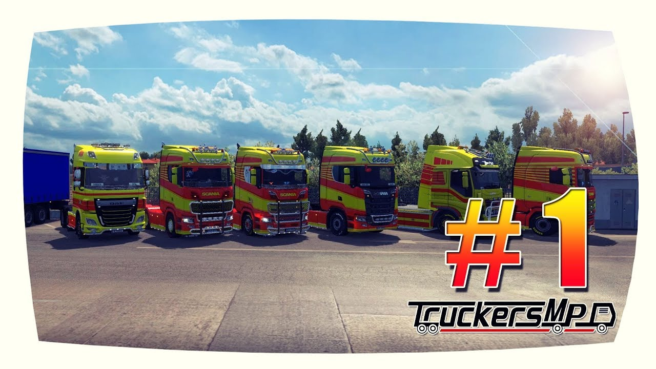 "ConSec sichert #1 | RavenGoup Konvoi 25.05.2018 | TruckersMP short ""cinematic"""