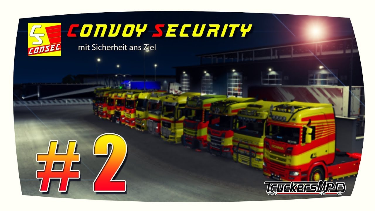 ConSec sichert ab! | Diamond-Transporte 14.12.2018 | Kurzfilm | ETS2MP [HD]