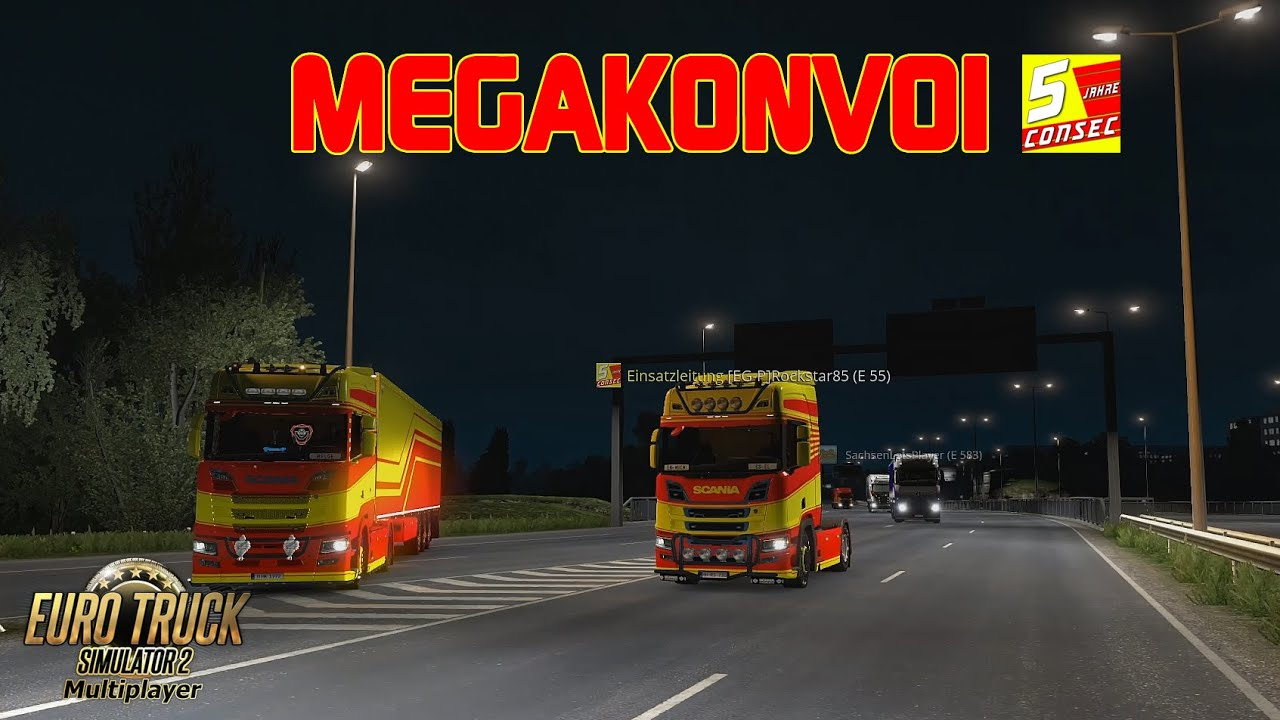 ETS2 Nordrheintvplay Megakonvoi