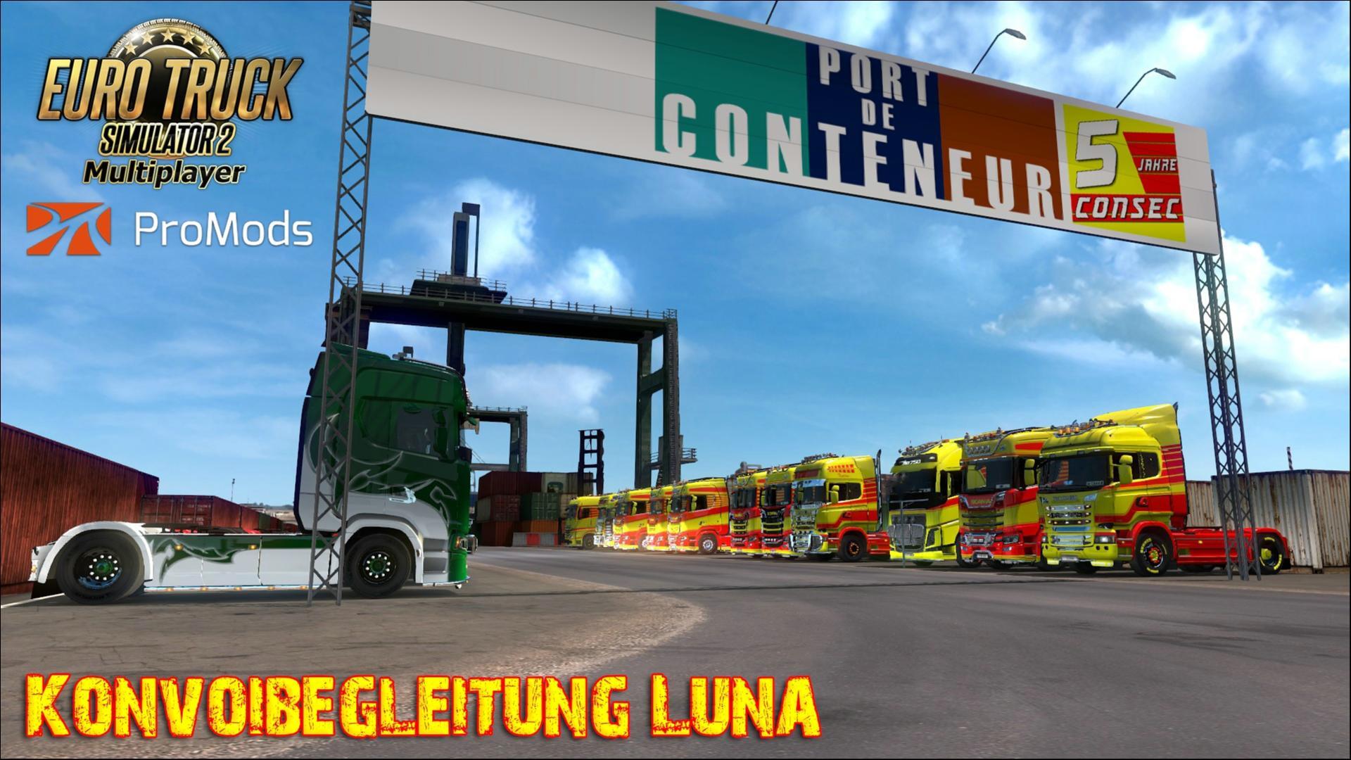 ConSec Konvoibegleitung Luna, ETS2 ProMods