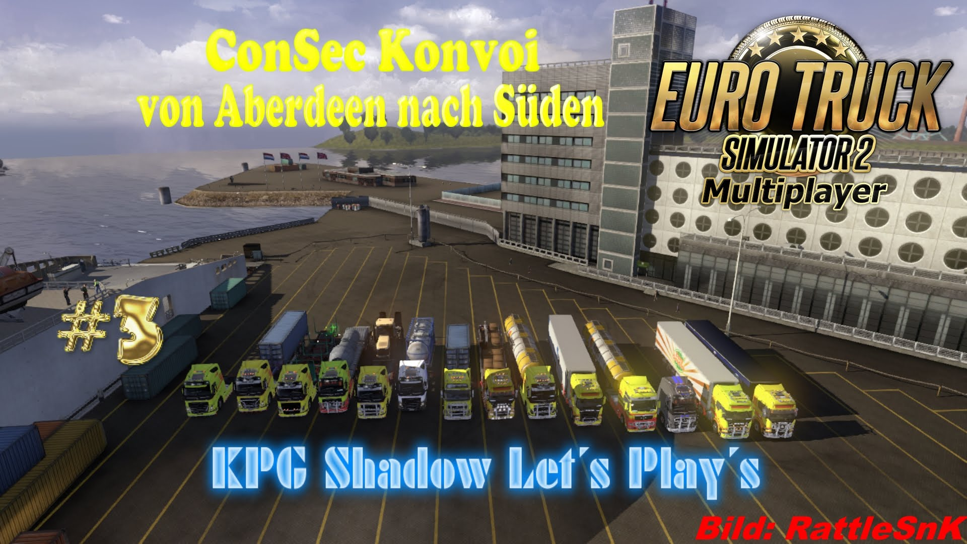 ConSec Konvoi (Aberdeen - Süden)★ ETS2 Multiplayer #3 ★