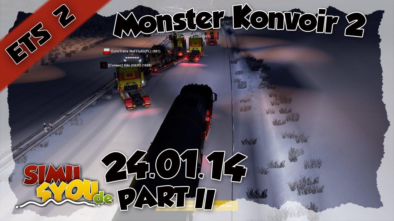 Monsterkonvoi 2 mit der ConSec zusammen - 2/3