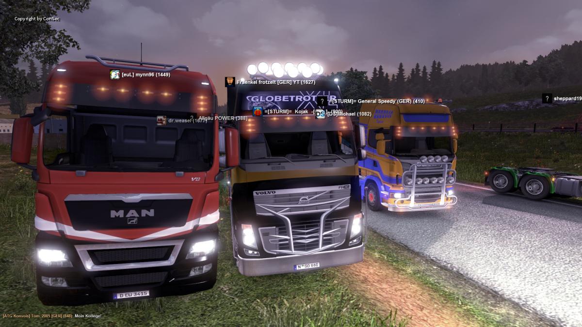 Fränkel Abschieds Convoy (Alt i know^^)
