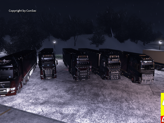 Nordrock-Logistik Konvoi