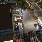 Konvoi der Kristall-Logistik