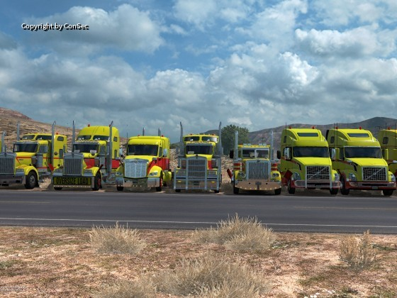 ATS Convoy:  ConSec am 29.12.2018 mit White Dragons