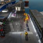 Ankumpft Bergen Hafen