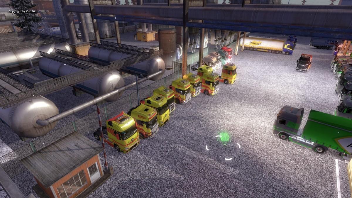 "Convoy ""Earth Truckers"" 28.12.2015"