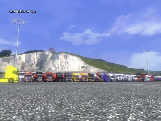 Englandumrundung Pause - Sommer 2014